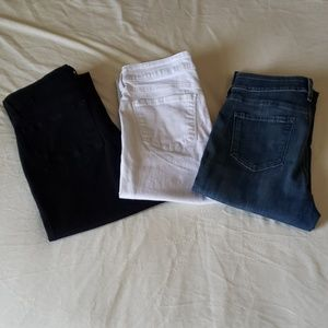 *NYDJ* Jeans (3 Pairs)